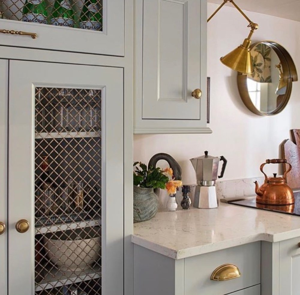 GARDEN LEVEL KITCHEN Interior Design //  Gwyn Duggan Design   Photo Credit // Southern Style Now