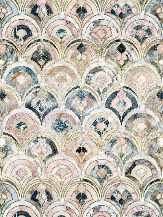 Color Inspiration // Pastel tile