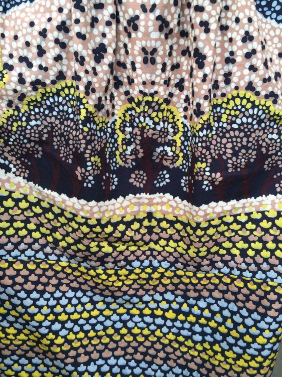 Color Inspiration // Vintage textile fragment