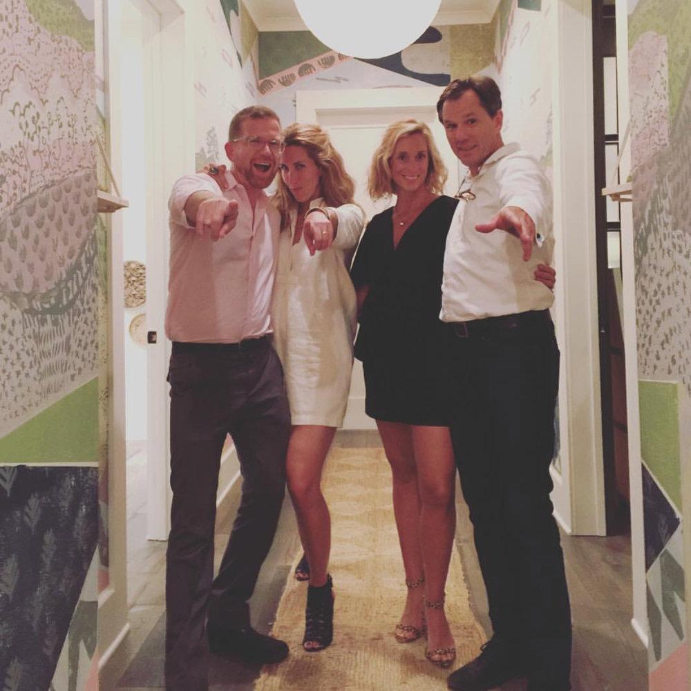 CLOTH & KIND + Paper Mills // Mike & Krista Nicholas, Tami & Robert Ramsay