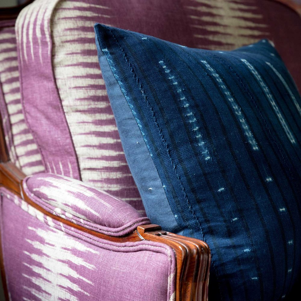 CLOTH & KIND :: Ann Arbor Hills Tudor, Sitting Room Armchair Detail.jpg