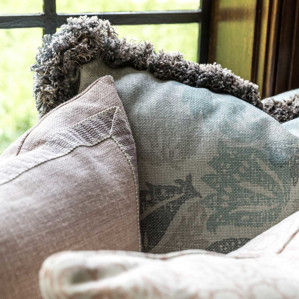 CLOTH & KIND :: Ann Arbor Hills Tudor, Sitting Room Pillows.jpg