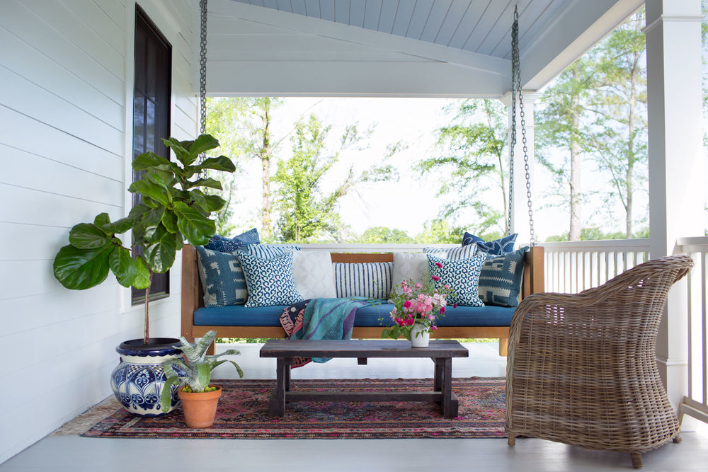 CLOTH & KIND :: Modern Farmhouse, Front Porch.jpg