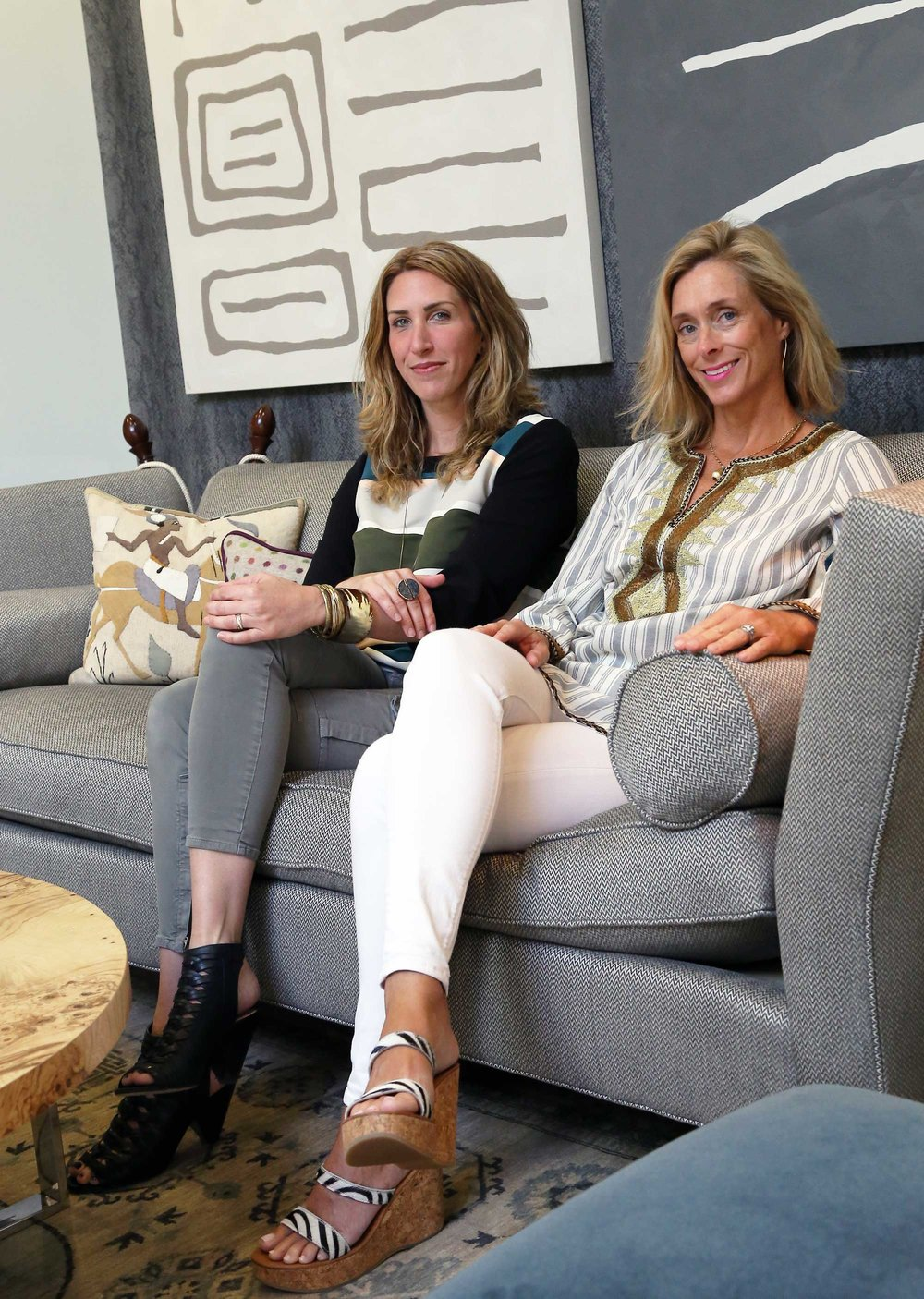 CLOTH & KIND :: Michigan Design Center, Krista and Tami Seated.jpg