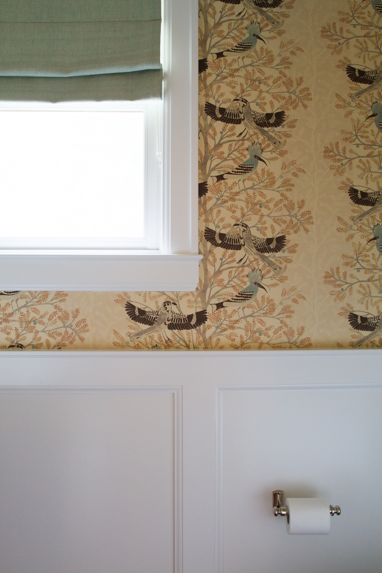 CLOTH & KIND :: Ann Arbor Hills English Cottage, Powder Room Detail.jpg