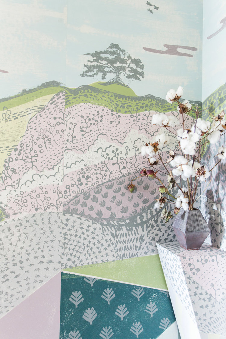 CLOTH & KIND :: Serenbe Showhouse Textile Lofts, Cotton Detail.jpg