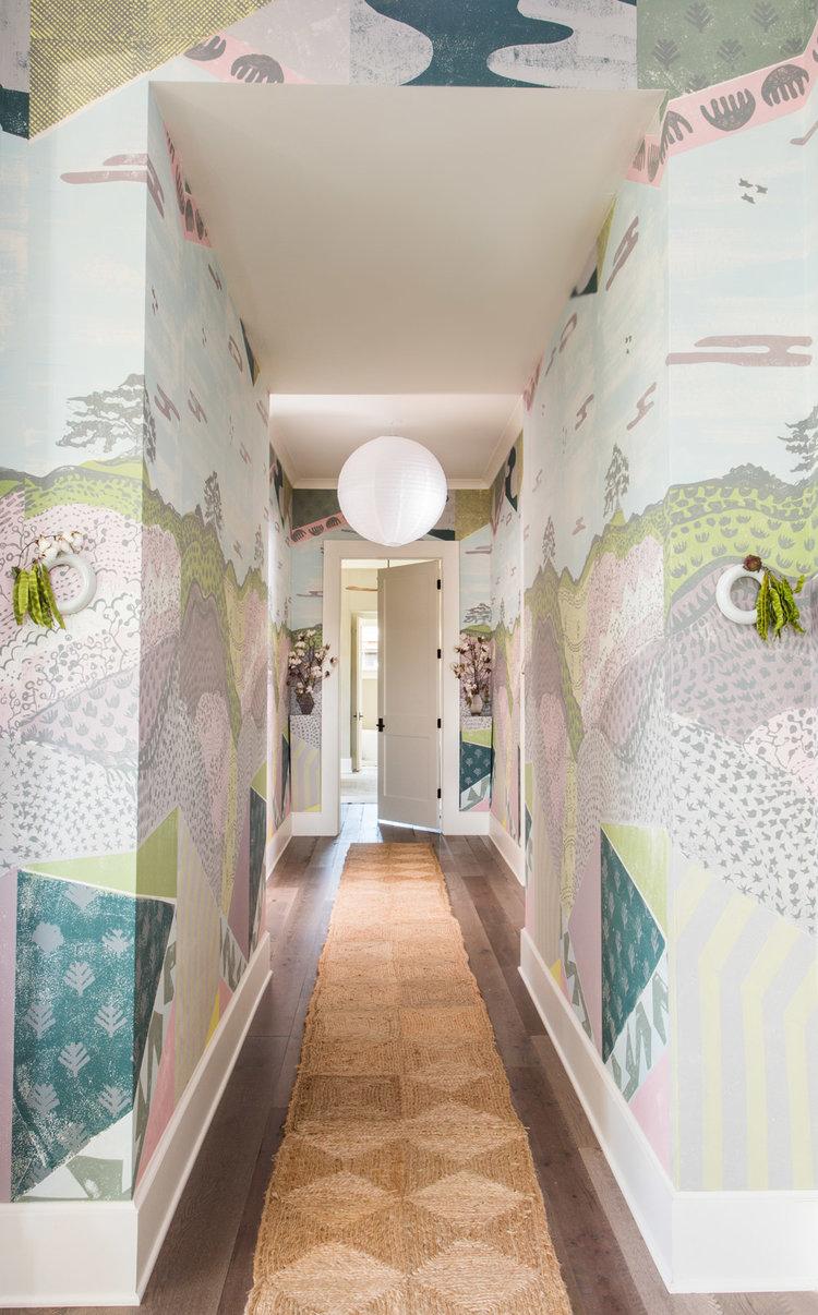 CLOTH & KIND :: Serenbe Showhouse Textile Lofts, Hallway.jpg