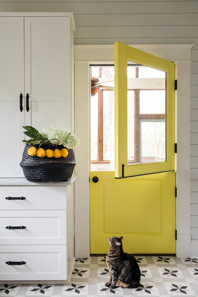 CLOTH & KIND :: University Drive Bungalow, Kitchen Door.jpg