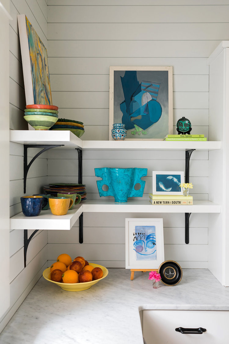 CLOTH & KIND :: University Drive Bungalow, Kitchen Shelves.jpg