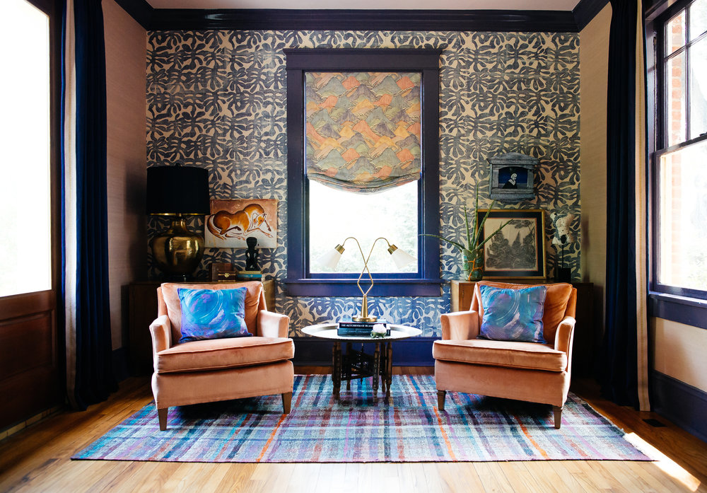 CLOTH & KIND :: Wilcox Modern Bungalow, Dining Room Sitting Area.jpg