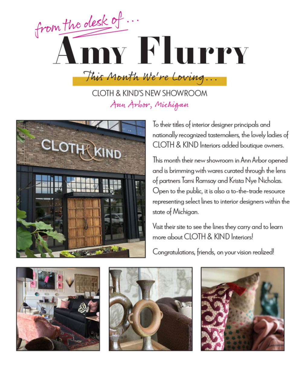 CLOTH & KIND // Press, Amy Flurry