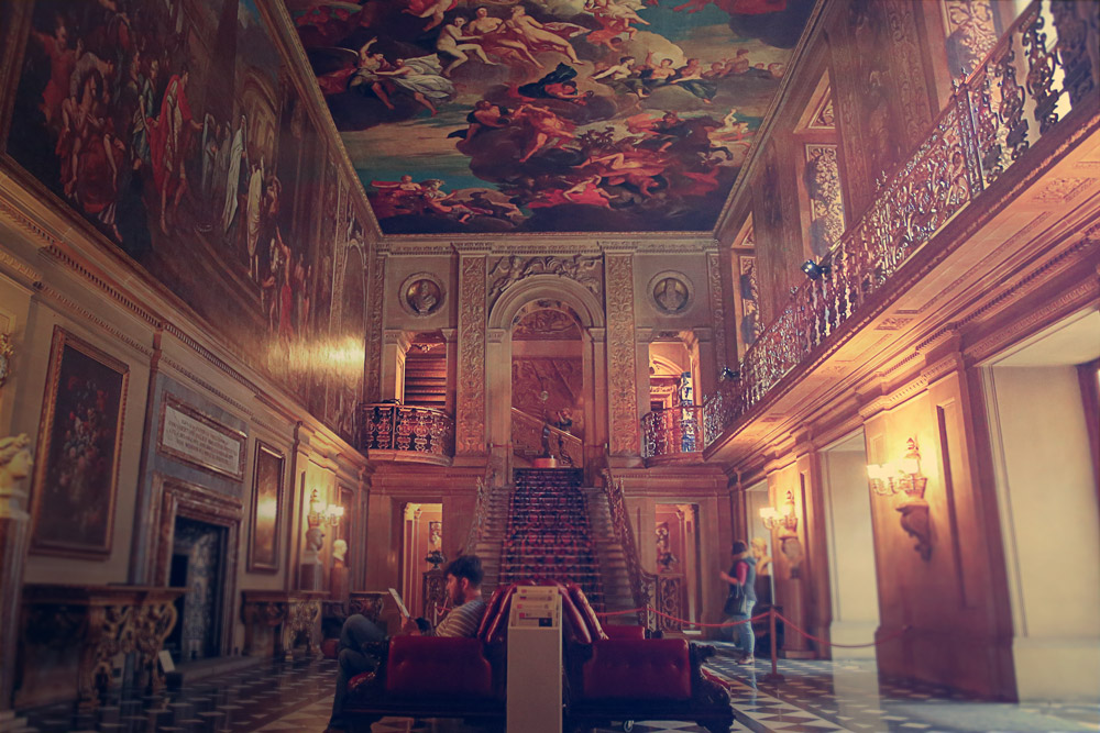 large-hall-with-painted-ceilings-chatsworth-patrick-sanders