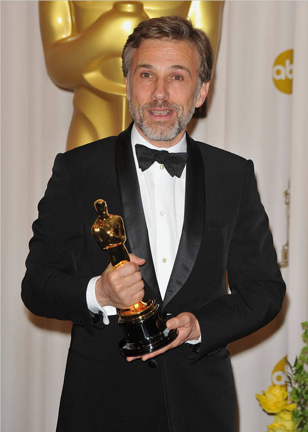 Christoph Waltz with Oscar