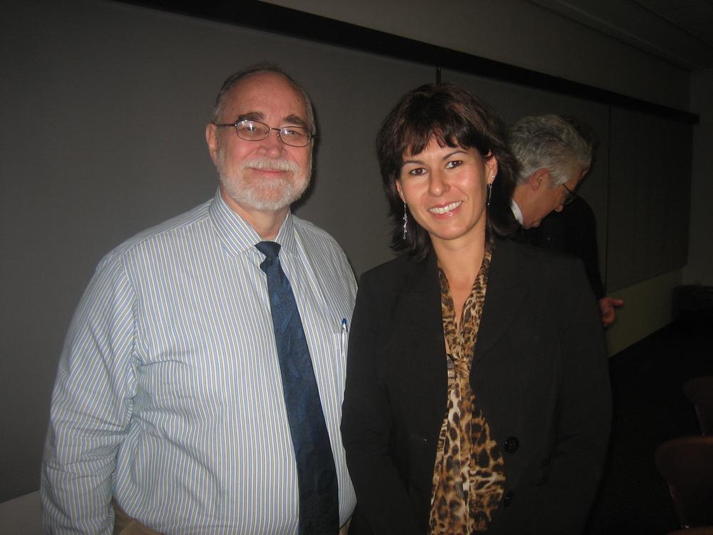 from left: Dr. Walter Crane; Elisabeth Springler