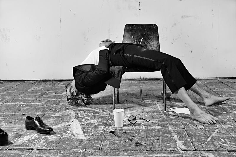 (c) Irina Gavrich, Painter Daniel Richter