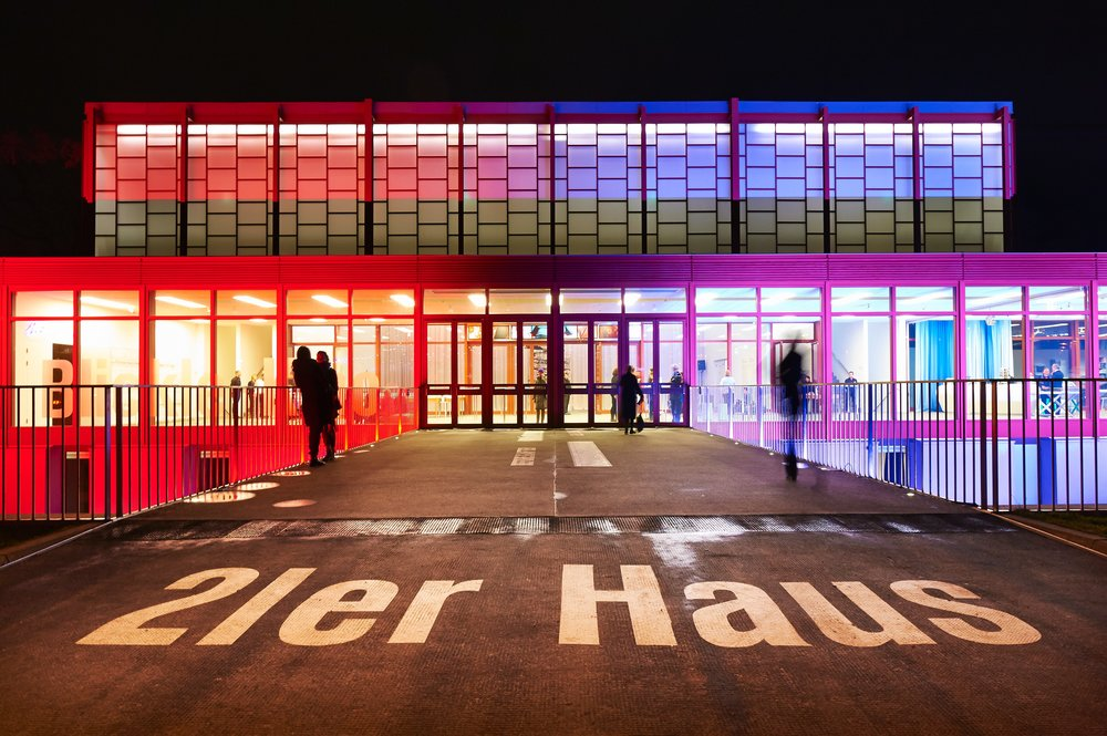 Karl Schwanzer, 20er Haus, Vienna, 1958 (remodeled and renamed in 2011. Belvedere Wien/ Sabine Klimpt.