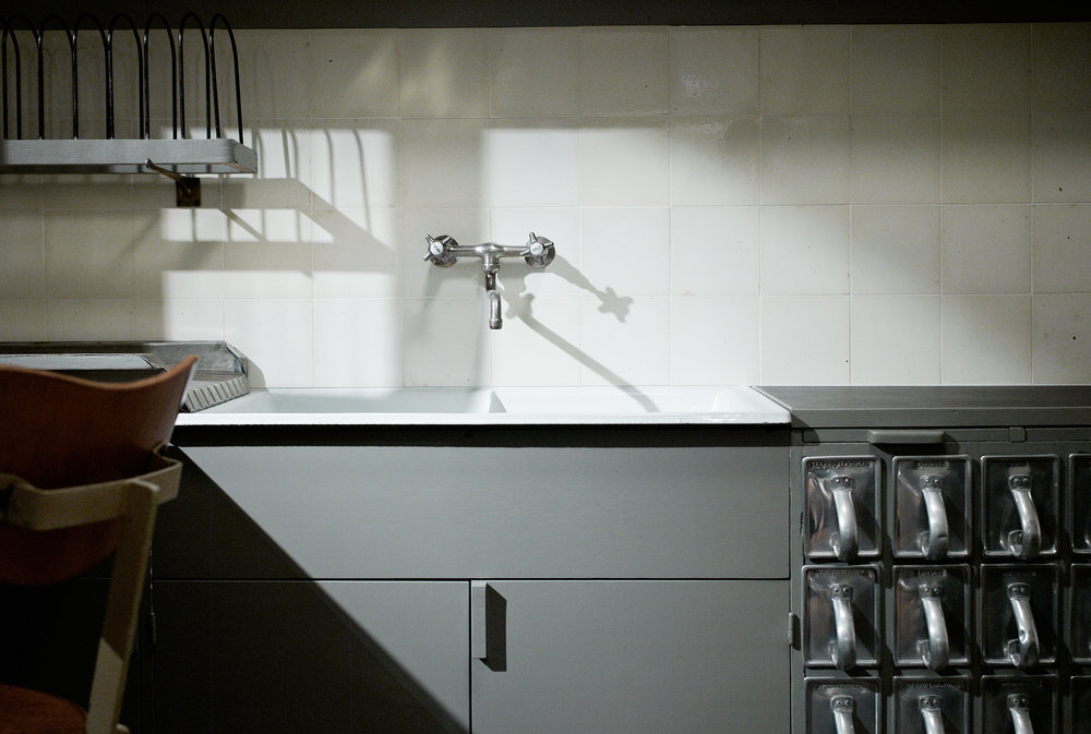 The Frankfurt Kitchen.  Wikimedia/ Jonathan Savoie  CC-BY-SA-3.0