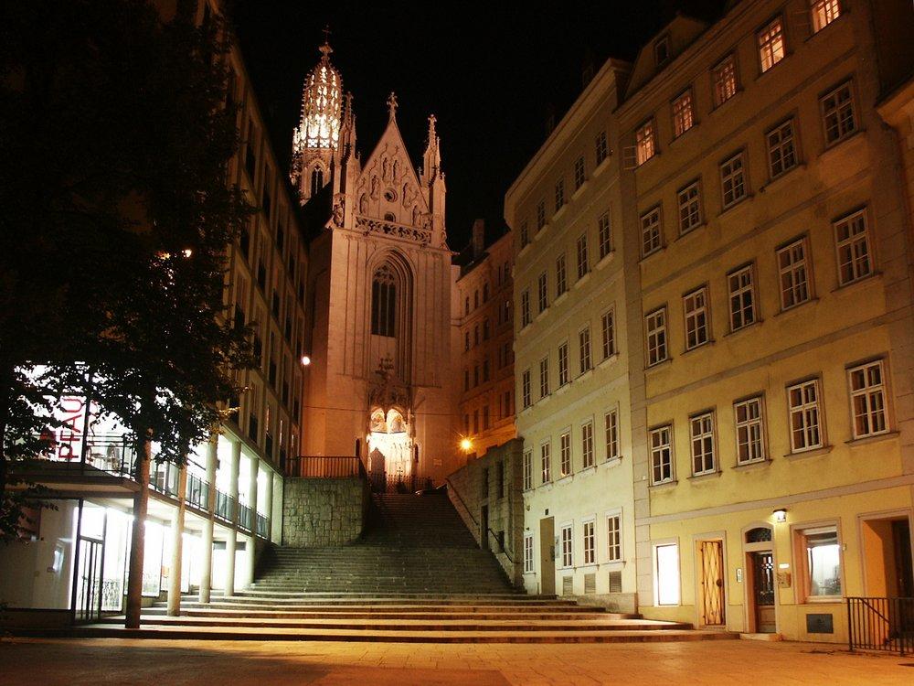 Church of Maria am Gestade, Vienna's inner city. Photo: Wikimedia/Ksardari