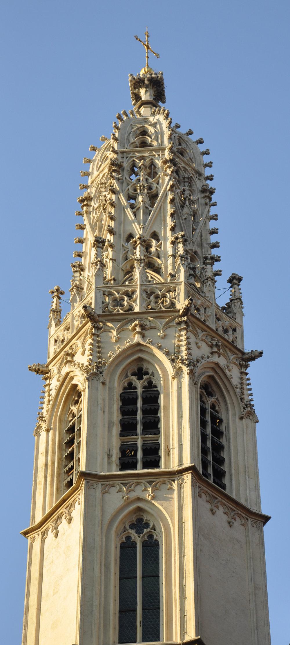 Church of Maria am Gestade,  Vienna's inner city. Photo: Wikimedia/Andreas Praefcke