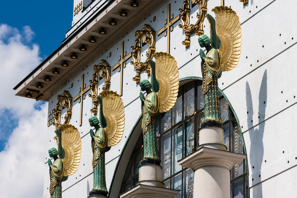 Otto Wagner, Church on Steinhof , Vienna, 1907. Photo: Wikimedia/Wolfgang T Heider
