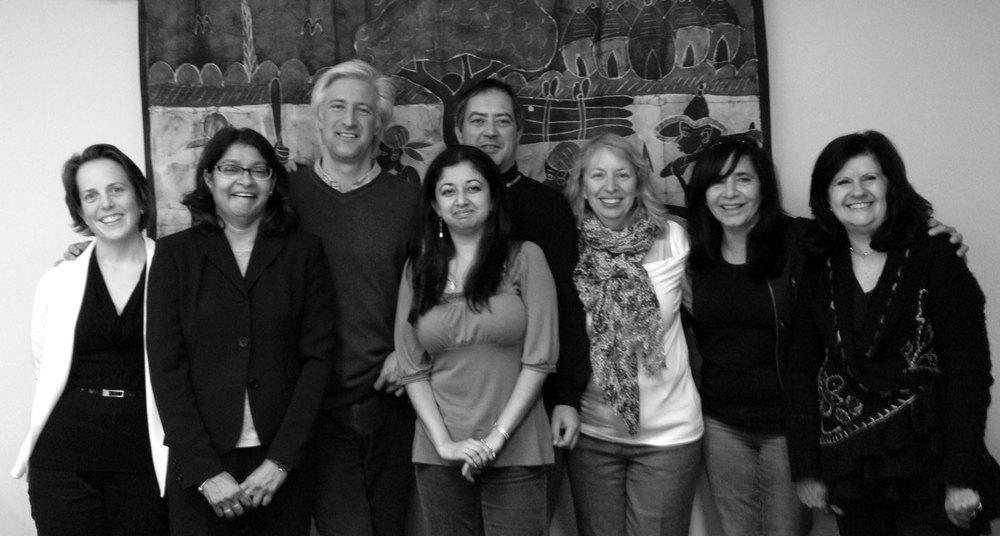 Christine Hughes, Christina Gabriel, Marcelo Saguier, Paola Ortiz, Pablo Heidrich, Laura Macdonald, Adriana Teresa Gonzalez, Maria Teresa Gutierrez Haces
