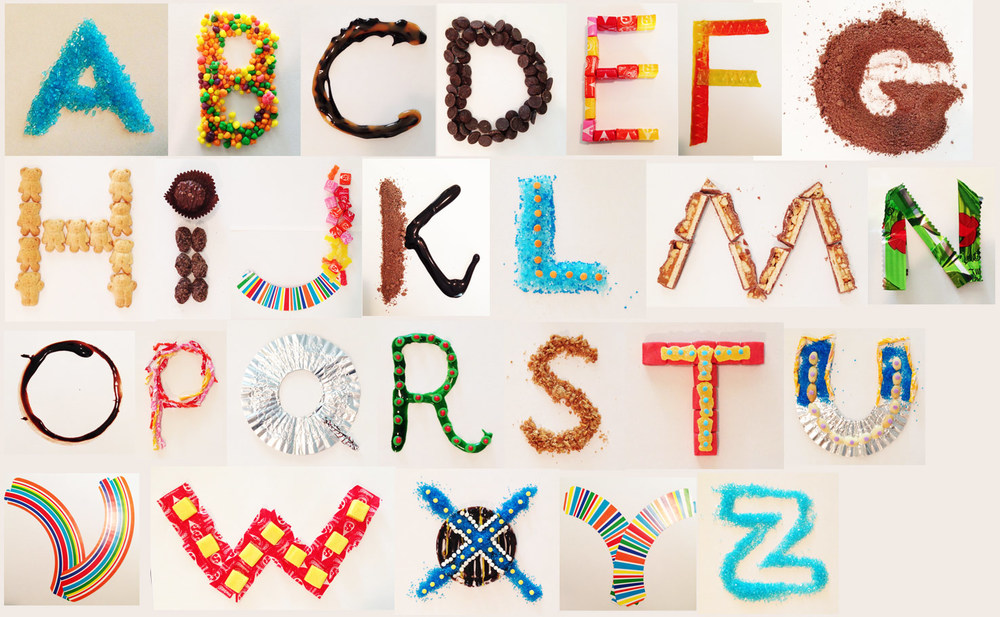 Sweet Type by Wendy Lee Oldfield