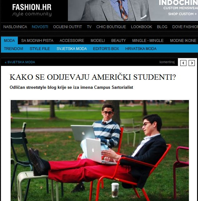 Fashion Hrvatska   -  How do American Students Dress?