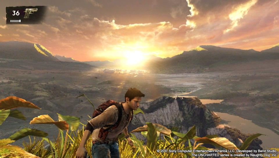 The Vita's graphics pop in U:GA