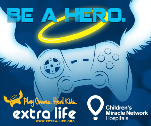 We're doing Extra Life on 10/25! Donate here!!!