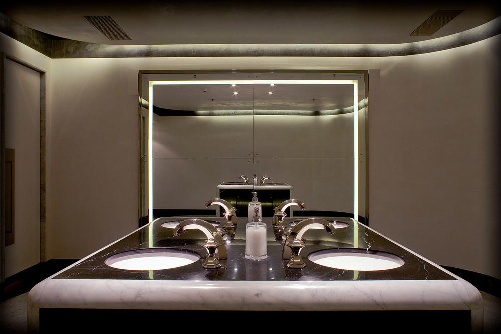 Faena Art Center Faena Arts Center Bathroom