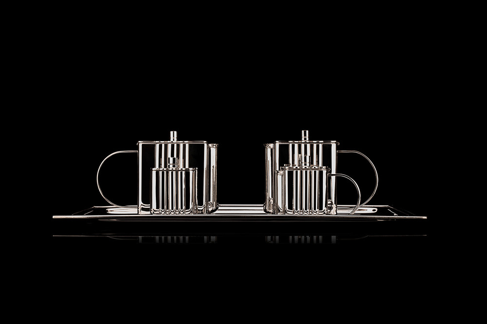 Faena Arts Center — Silver tea set
