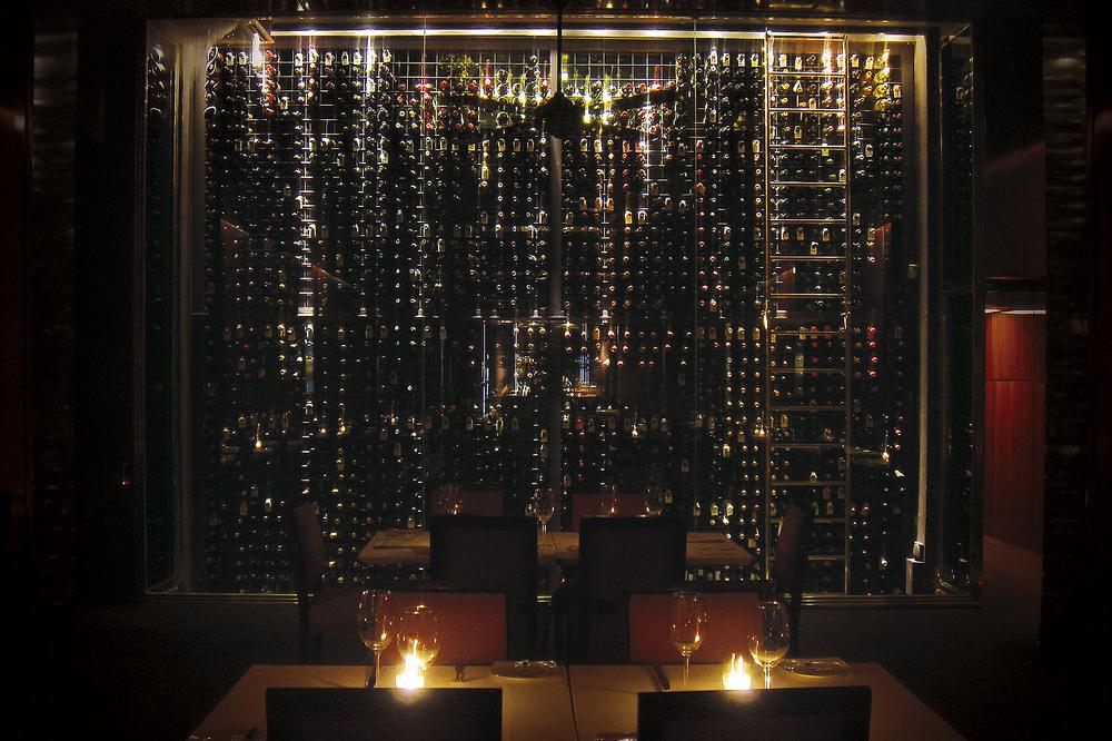 Casa Cruz — Wine cellar