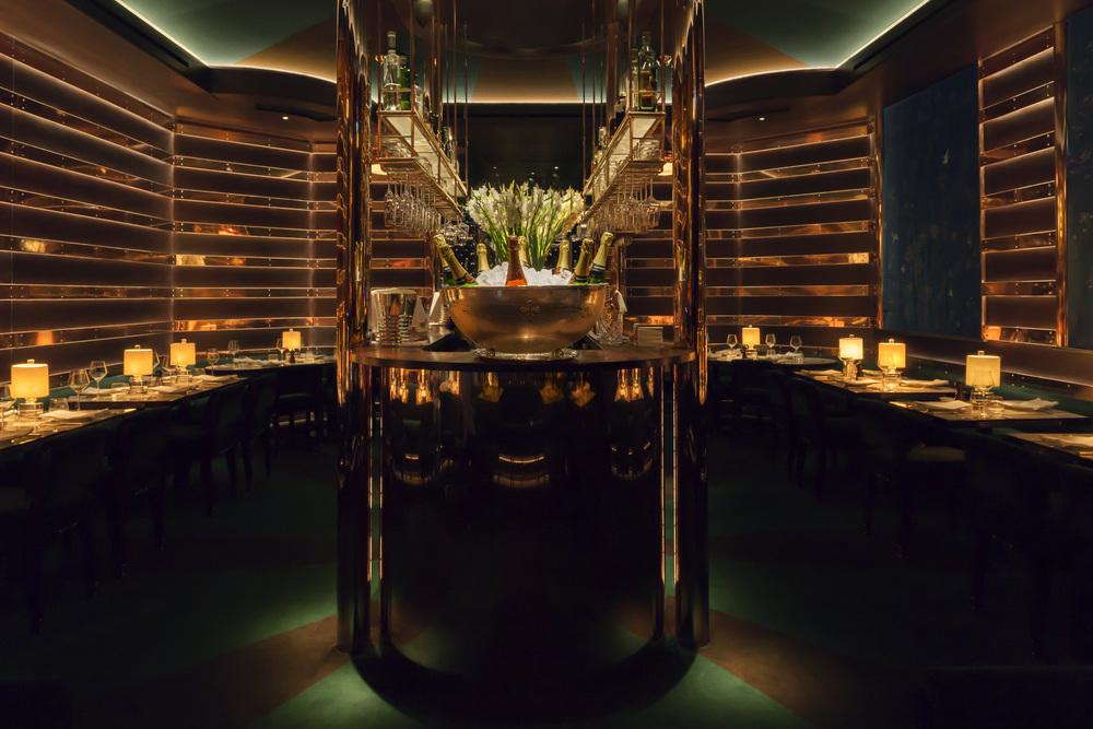 Casa Cruz London — Bar area