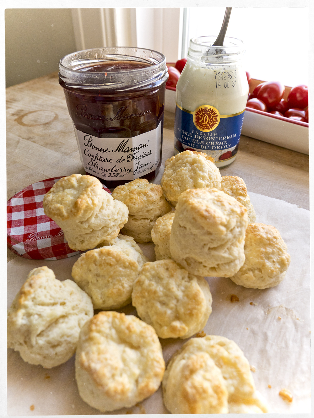 Saturday morning scones