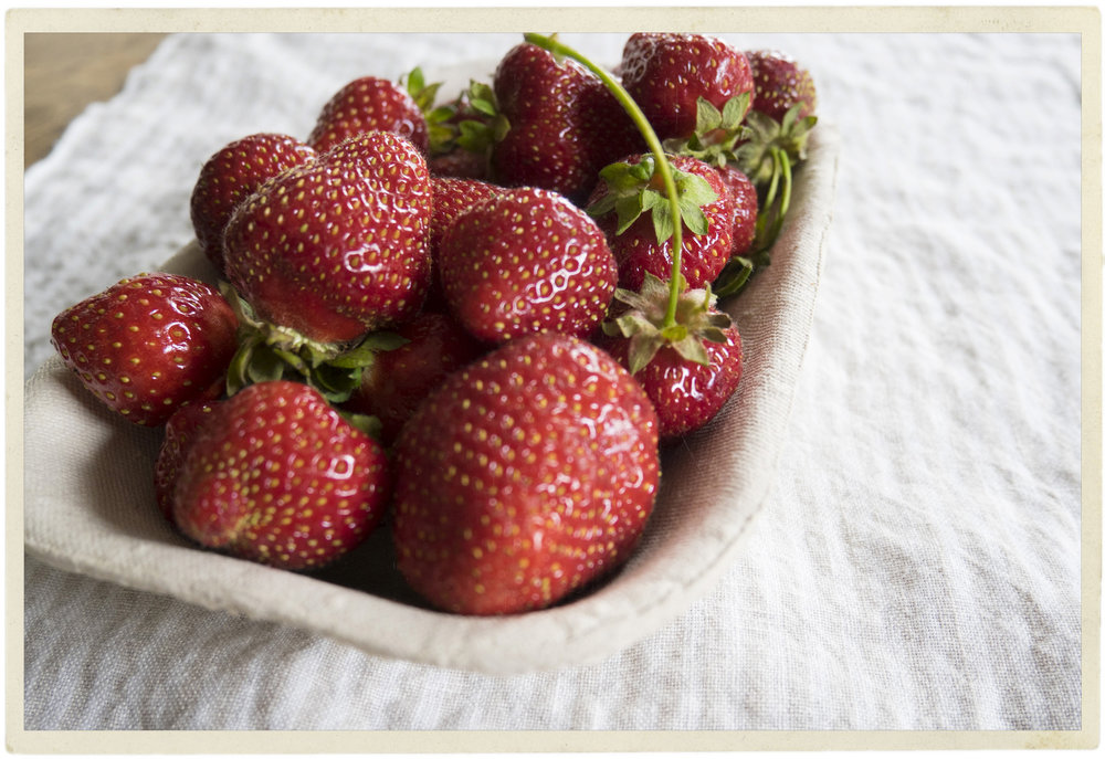 "Strawberries seem to say ""hello Summer, welcome back!"""