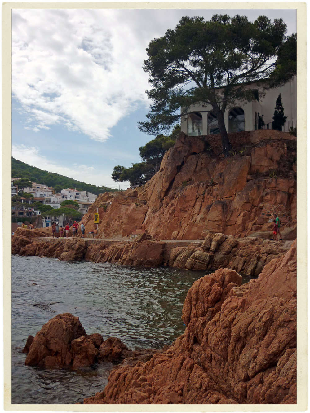 Typical beaches and villages along the Costa Brava.