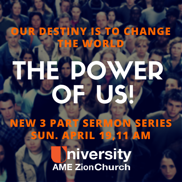 The power of us sermon series