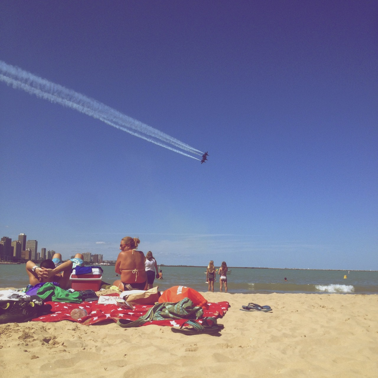 Chicago air show