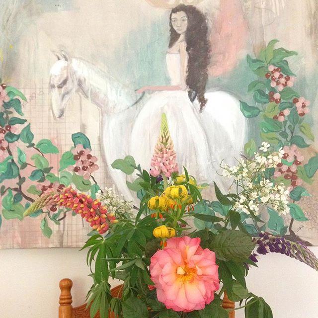 Garden flowers #bouquet #summerflowers #thoserosesthough