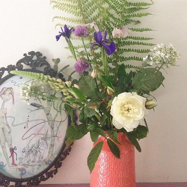Today's bouquet #gardenflower #summerflowers #bouquet