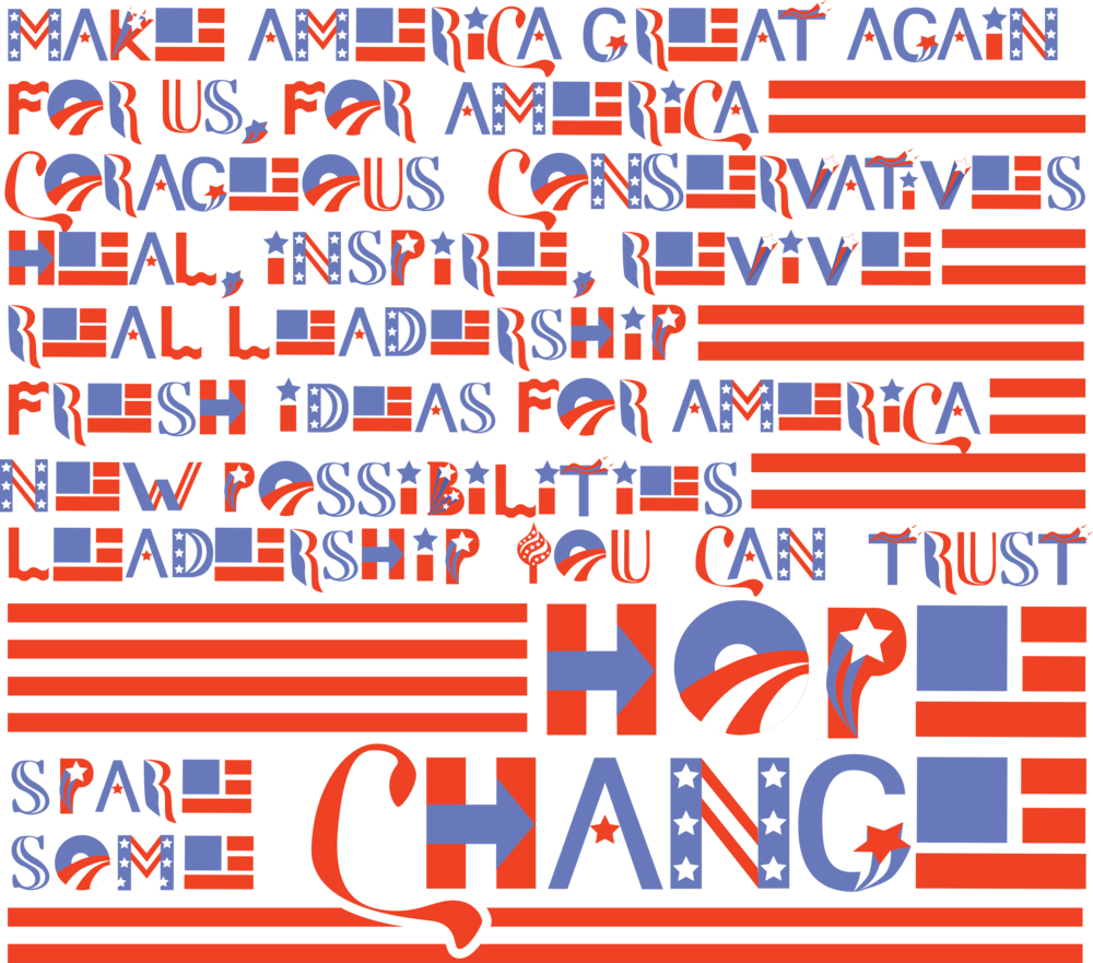 Presidential logo typeface