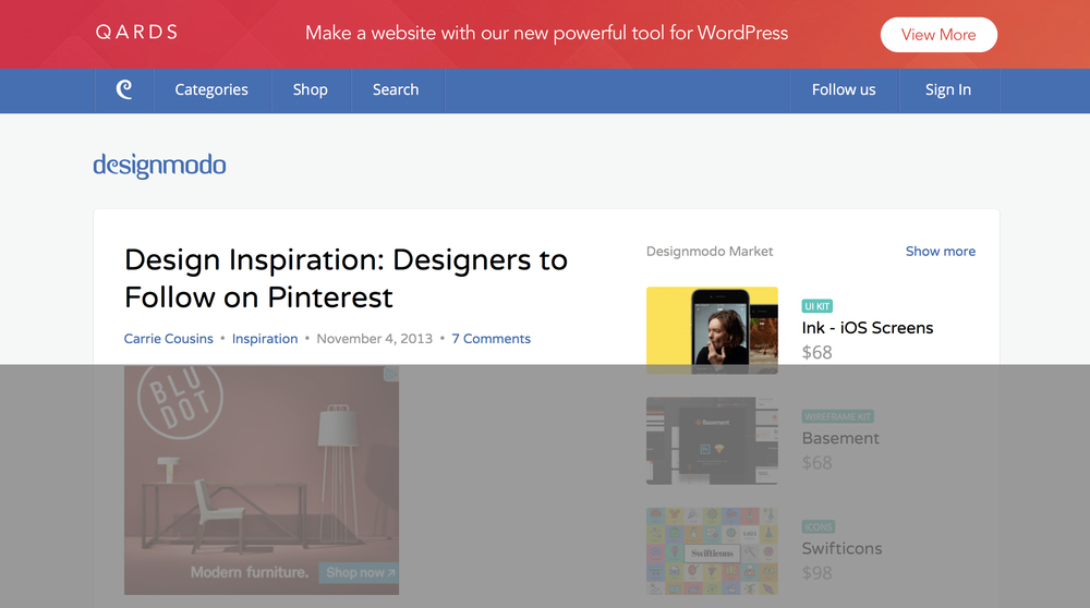 50 Designers to Follow on Pinterest