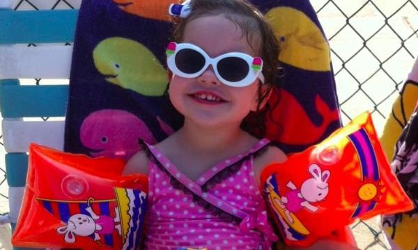 My third granddaughter, Mara, age 3.