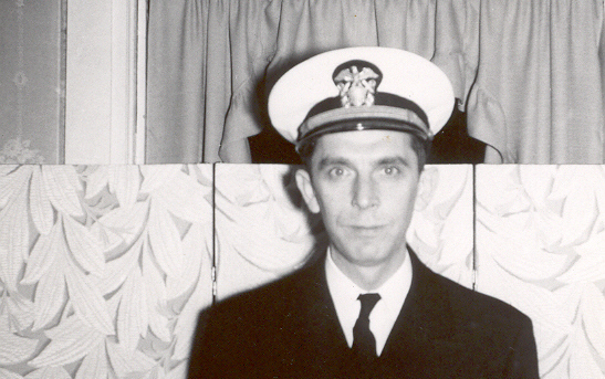 I love this picture of my dad, so handsome in his uniform . . . but not so great at picking backgrounds.