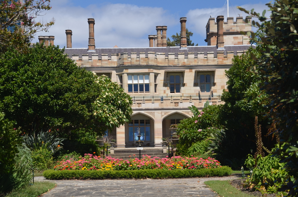 The Government House, also in Sydney's Botanical Garden.