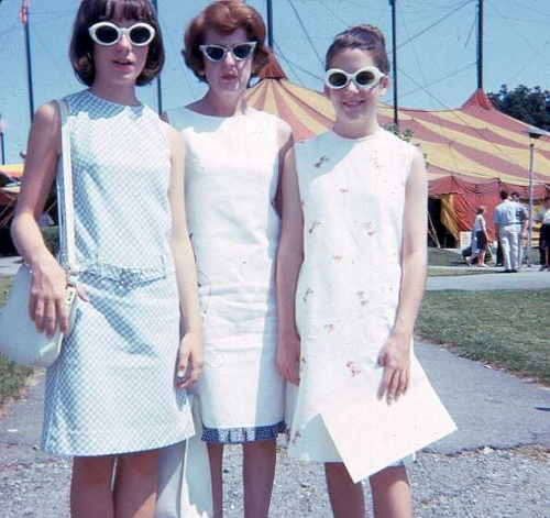 My sense of style has evolved over the years (mom and sister, right.)