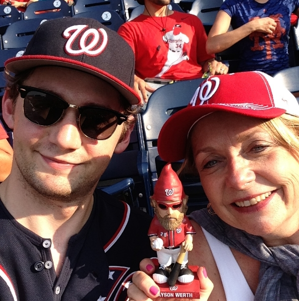 With son, Dan, and they guy who brings in the Gnome-runs.
