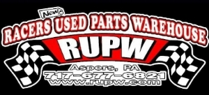 Racers New & Used Parts Warehouse   1701 Heidlersburg RD  Aspers, PA 17304  Phone: (717) 677-6821  info@rupw.com