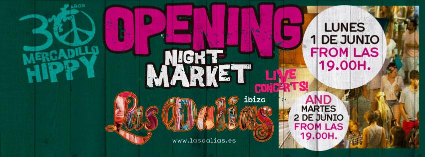 OPENING NIGHT MARKET EN LAS DALIAS