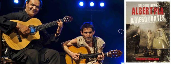 Albert Pla & Diego Cortés en concierto en Las Dalias.